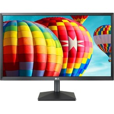 "LG 22BK430H-B 21.5"" Full HD LED LCD Monitor - 16:9 - Black - 1920 x 1080 - 16.7 Million Colors - FreeSync - 250 cd/m² - 5 ms GTG - HDMI - VGA"