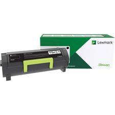 Lexmark 56F1H00 Black High Yield Toner Cartridge - 15,000 Page Yield