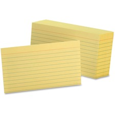 OXF 7321CAN Oxford Colored Ruled Index Cards OXF7321CAN