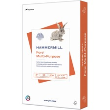 "Hammermill Paper for Multi 8.5x14 Laser, Inkjet Copy & Multipurpose Paper - White - 96 Brightness - Legal - 8 1/2"" x 14"" - 20 lb Basis Weight - FSC"