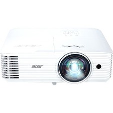 Acer S1286HN DLP Projector - 4:3 - 1024 x 768 - Front-Rear-Ceiling-Rear Ceiling - 5000 Hou