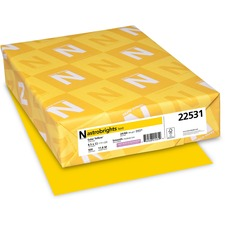 WAU 22531 Wausau Astrobrights 24 lb Colored Paper WAU22531
