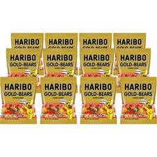 HRB 30220 Haribo Gold-Bears Gummi Candy HRB30220