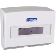 KCC 09217 Kimberly-Clark ScottFold Compact Towel Dispenser KCC09217
