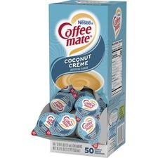 NES 43597 Nestle Coffee-mate Coconut Creme Creamer Singles NES43597