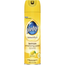 SJN 697831CT SC Johnson Pledge Lemon Clean Furniture Polish SJN697831CT