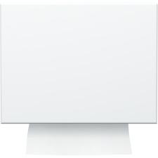 """TORK Singlefold Hand Towel Dispenser - Singlefold Dispenser - 9.30"""" (236.22 mm) Height x 11.80"""" (299.72 mm) Width x 5.80"""" (147.32 mm) Depth - Metal, Enameled Steel - White - Long Lasting"""