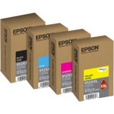 EPSON T912 DuraBrite Extra High Capacity Black Ink Cartridge / WF-C8690-WF-C8190