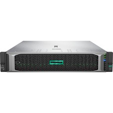 HPE ProLiant DL380 G10 2U Rack Server - 1 x Xeon Bronze 3104 - 16 GB RAM HDD SSD - Serial ATA/600 Controller