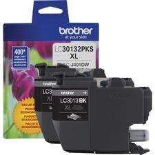 Brother Black Ink Cartridge 2-Pack High Yield