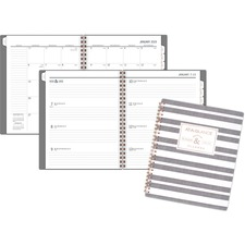 AAG5148E805 - At-A-Glance Badge Stripe Weekly/Monthly Planner