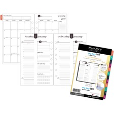 AAG60994311 - At-A-Glance Harmony 1 Page Per Daily Monthly Planner Refill