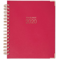 AAG609980559 - At-A-Glance Harmony Hardcover Weekly/Monthly Planner
