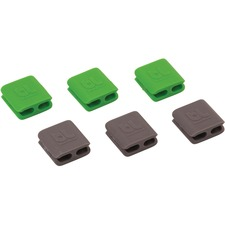 AVT BLUCCSM Advantus BlueLounge CableClip Multi-purpose Clips AVTBLUCCSM