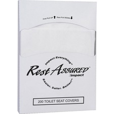 IMP 25184473 Impact 1/4-fold Toilet Seat Covers IMP25184473