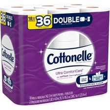 KCC 48620 Kimberly-Clark Cottonelle ComfortCare Bath Tissue KCC48620