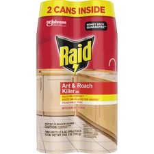 SJN 697322 SC Johnson Raid Ant/Roach Killer Spray SJN697322
