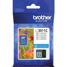 Brother LC3011CS Original Ink Cartridge - Single Pack - Cyan - Inkjet - Standard Yield - 200 Pages - 1 Each