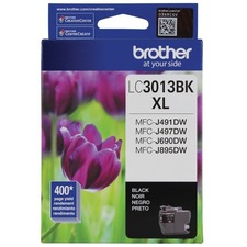 Brother Innobella LC3013BKS Original Ink Cartridge - Single Pack - Black - Inkjet - High Yield - 400 Pages - 1 Each