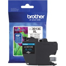 Brother Innobella LC3013CS Original Ink Cartridge - Single Pack - Cyan - Inkjet - High Yield - 400 Pages - 1 Each