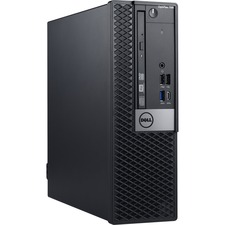 Dell OptiPlex 7000 7060 Desktop Computer - Intel Core i7 (8th Gen) i7-8700 3.20 GHz - 8 GB DDR4 SDRAM - 1 TB HDD - Windows 10 Pro 64-bit (English/French/Spanish) - Small Form Factor