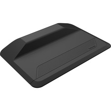 "Fellowes ActiveFusion Anti-Fatigue Mat - Floor, Workstation - 35.75"" (908.05 mm) Width x 23.50"" (596.90 mm) Depth x 3.50"" (88.90 mm) Thickness - Rectangle - Black"