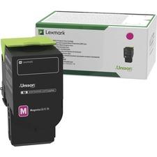 Lexmark Original Toner Cartridge - Magenta - Laser - Standard Yield - 1000 Pages