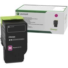 Lexmark Original Toner Cartridge - Magenta - Laser - High Yield - 2300 Pages