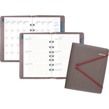 AAGDR110704013 - At-A-Glance Red Bungee Undated Desk Starter Set