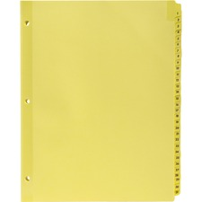 BSN01808 - Business Source Preprinted 1-31 Tab Index Dividers