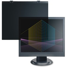 "Business Source LCD Antiglare Filter Black - For 17""LCD Monitor"