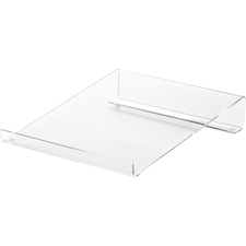 Business Source Large Acrylic Calculator Stand - 1 / Each - Clear