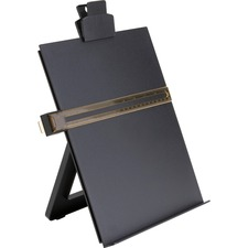 Business Source Easel Copy Holder - 1 Each - Black