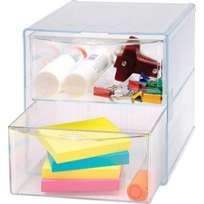 BSN 82978 Bus. Source 2-drawer Storage Organizer BSN82978