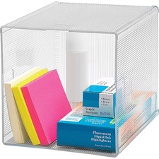 BSN 82980 Bus. Source Clear Cube Storage Cube Organizer BSN82980