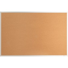 LLR 19070 Lorell Aluminum Frame Cork Board LLR19070