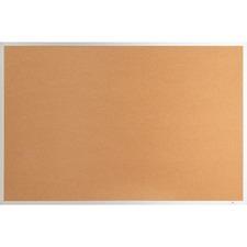 LLR 19763 Lorell Aluminum Frame Cork Board LLR19763