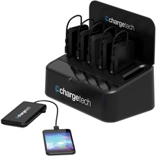 CRG CT300044 ChargeTech Portable Battery 6 Dock Station CRGCT300044