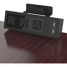 CRG CT400001 ChargeTech Desktop Outlets Power Strip CRGCT400001