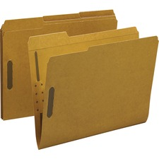 BSN 17214 Bus. Source 2-ply Tab Kraft Fastener Folders  BSN17214