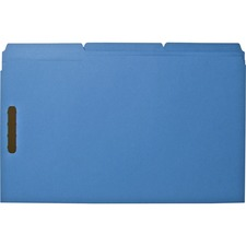 BSN 17219 Bus. Source 2-ply Tab Legal Fastener Folders BSN17219