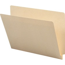 BSN 17237 Bus. Source 1-ply Straight-cut End Tab Folders BSN17237