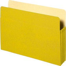BSN26553 - Business Source Coloured Expanding File Pockets