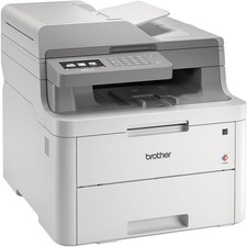 Brother MFC MFC-L3710CW Wireless Laser Multifunction Printer - Color - Copier/Fax/Printer/Scanner - 19 ppm Mono/19 ppm Color Print - 600 x 2400 dpi Print - Upto 30000 Pages Monthly - 251 sheets Input - Color Scanner - 1200 dpi Optical Scan - Color Fax - Wireless LAN - Wi-Fi Direct, Google Cloud Print, Apple AirPrint, Mopria, Brother iPrint&Scan - USB - 1 Each - For Plain Paper Print
