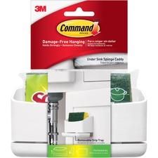 MMM17609HWES - Command Under Sink Sponge Caddy