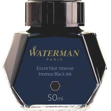 Waterman 50 ml Ink Bottle - Intense Black 50 mL Ink - 1 Each