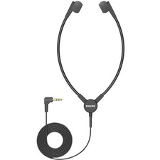 Philips Transcription ACC0233 Earphone - Stereo - Mini-phone (3.5mm) - Wired - 32 Ohm - Earbud - Binaural - In-ear - 9.8 ft Cable