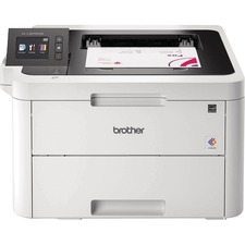Brother HL HL-L3270cdw Laser Printer - Color - 25 ppm Mono / 25 ppm Color - 600 x 2400 dpi Print - Automatic Duplex Print - 251 Sheets Input - Wireless LAN