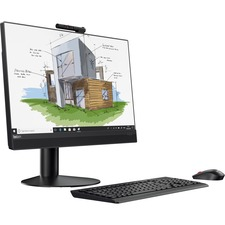 "Lenovo ThinkCentre M920z 10S60023US All-in-One Computer - Core i5 i5-8500 - 8 GB RAM - 256 GB SSD - 23.8"" 1920 x 1080 Touchscreen Display - Desktop - Business Black"