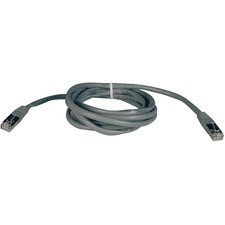 Tripp Lite 7 ft CAT 5e Shielded Patch Cable - Grey